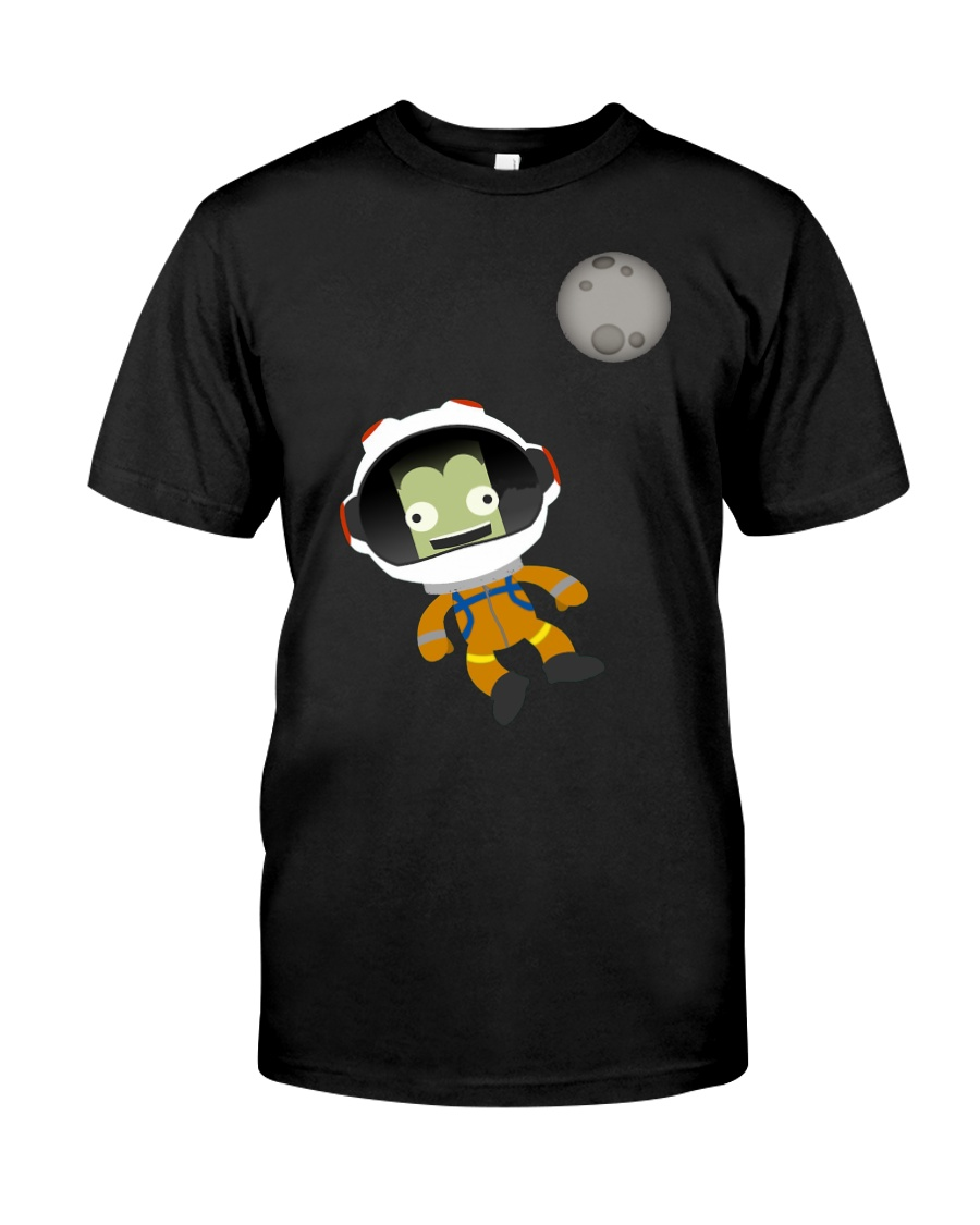 Mn or Bust Kerbal Space Program T Shirt Classic T-Shirt