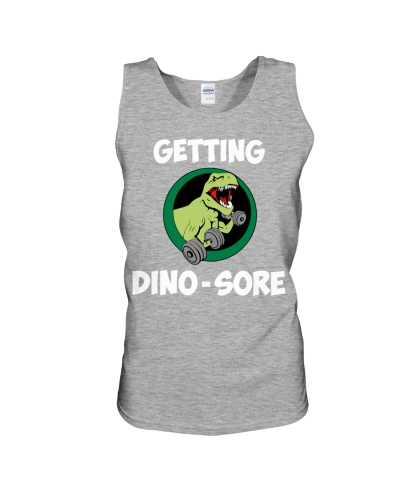 Dino-Sore Workout Shirt