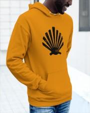 Coquille Noir Vintage Hooded Sweatshirt apparel-hooded-sweatshirt-lifestyle-front-15