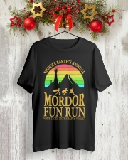 Mordor Fun Run Shirt Classic T-Shirt lifestyle-holiday-crewneck-front-2