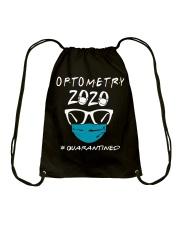 Optometry 2020 quarantined shirt Drawstring Bag thumbnail
