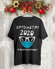 Optometry 2020 quarantined shirt Classic T-Shirt lifestyle-holiday-crewneck-front-2