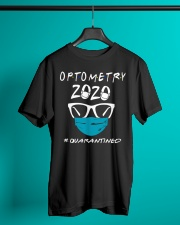 Optometry 2020 quarantined shirt Classic T-Shirt lifestyle-mens-crewneck-front-3