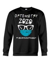 Optometry 2020 quarantined shirt Crewneck Sweatshirt thumbnail