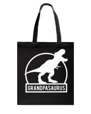 Grandpasaurus T-Shirt Fathers Day Tote Bag thumbnail