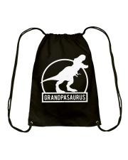 Grandpasaurus T-Shirt Fathers Day Drawstring Bag thumbnail