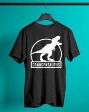 Grandpasaurus T-Shirt Fathers Day Classic T-Shirt lifestyle-mens-crewneck-front-3