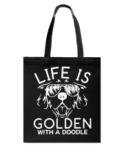 Like Is Golden With A Doodle T-shirt Tote Bag thumbnail
