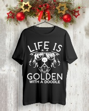 Like Is Golden With A Doodle T-shirt Classic T-Shirt lifestyle-holiday-crewneck-front-2