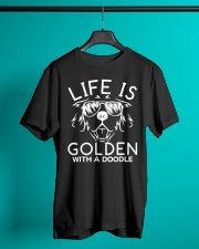 Like Is Golden With A Doodle T-shirt Classic T-Shirt lifestyle-mens-crewneck-front-3