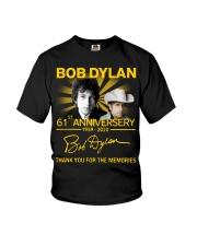 Bob Dylan 61Th Anniversary 1959 2020 T-Shirt Youth T-Shirt thumbnail