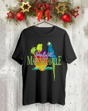 Jimmy Buffett Margaritaville T-Shirt Classic T-Shirt lifestyle-holiday-crewneck-front-2
