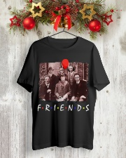 Friends Halloween Horror Team Scary Movies Shirt Classic T-Shirt lifestyle-holiday-crewneck-front-2