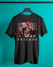 Friends Halloween Horror Team Scary Movies Shirt Classic T-Shirt lifestyle-mens-crewneck-front-3