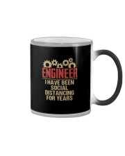 Engineer I Have Been Social Distancing shirt Color Changing Mug thumbnail