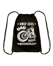 Cool Dad Rides Motorcycle T Shirts Drawstring Bag thumbnail