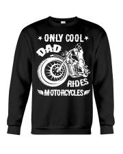 Cool Dad Rides Motorcycle T Shirts Crewneck Sweatshirt thumbnail