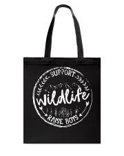 Mom Support Wildlife Raise Boys T-Shirt Tote Bag tile
