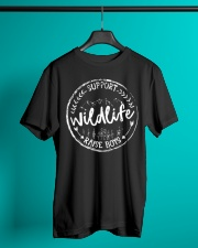 Mom Support Wildlife Raise Boys T-Shirt Classic T-Shirt lifestyle-mens-crewneck-front-3