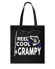 Reel Cool Grampy Shirt Fishing Gift Tote Bag thumbnail