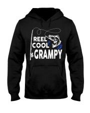 Reel Cool Grampy Shirt Fishing Gift Hooded Sweatshirt thumbnail