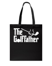 The Golffather Golf Dad T-shirt Tote Bag thumbnail