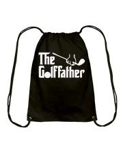 The Golffather Golf Dad T-shirt Drawstring Bag thumbnail