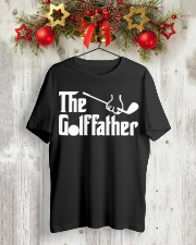 The Golffather Golf Dad T-shirt Classic T-Shirt lifestyle-holiday-crewneck-front-2