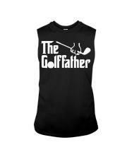The Golffather Golf Dad T-shirt Sleeveless Tee thumbnail