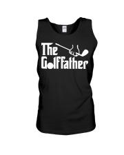 The Golffather Golf Dad T-shirt Unisex Tank thumbnail