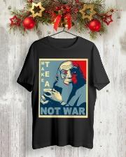 Anime Avatar Iroh - Make Tea Not War T-Shirt Classic T-Shirt lifestyle-holiday-crewneck-front-2