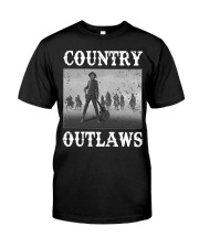 Country Outlaws Shirt For Special Classic T-Shirt thumbnail