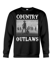 Country Outlaws Shirt For Special Crewneck Sweatshirt thumbnail