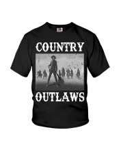 Country Outlaws Shirt For Special Youth T-Shirt thumbnail