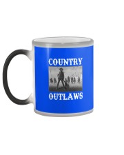 Country Outlaws Shirt For Special Color Changing Mug color-changing-left