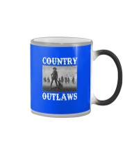 Country Outlaws Shirt For Special Color Changing Mug color-changing-right