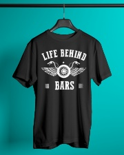 Life Behind Bars Motorcycle Father's Day Shirt Classic T-Shirt lifestyle-mens-crewneck-front-3
