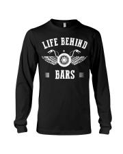 Life Behind Bars Motorcycle Father's Day Shirt Long Sleeve Tee thumbnail