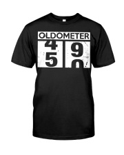 OLDMETER 50 YEARS OLD BIRTHDAY GIFT SHIRT Classic T-Shirt front