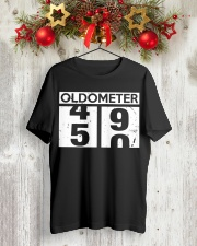 OLDMETER 50 YEARS OLD BIRTHDAY GIFT SHIRT Classic T-Shirt lifestyle-holiday-crewneck-front-2