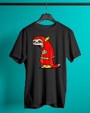 Funny Sloth Superhero t-shirt Classic T-Shirt lifestyle-mens-crewneck-front-3