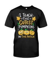 Halloween Shirt Pre-K Teacher Tshirt Classic T-Shirt front