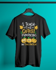 Halloween Shirt Pre-K Teacher Tshirt Classic T-Shirt lifestyle-mens-crewneck-front-3