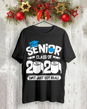 Senior Class of 2020 Graduation T-Shirt Classic T-Shirt lifestyle-holiday-crewneck-front-2