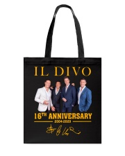IL Divo Operatic Pop Band 16Th Anniversary Shirt Tote Bag thumbnail