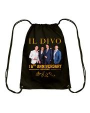 IL Divo Operatic Pop Band 16Th Anniversary Shirt Drawstring Bag thumbnail