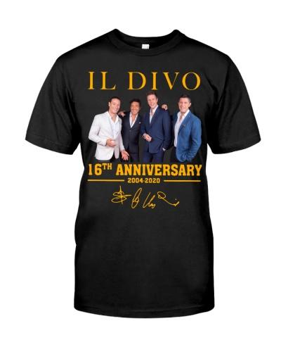IL Divo Operatic Pop Band 16Th Anniversary Shirt