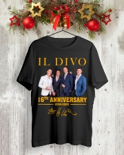 IL Divo Operatic Pop Band 16Th Anniversary Shirt Classic T-Shirt lifestyle-holiday-crewneck-front-2