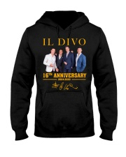 IL Divo Operatic Pop Band 16Th Anniversary Shirt Hooded Sweatshirt thumbnail