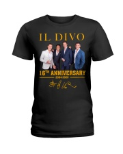 IL Divo Operatic Pop Band 16Th Anniversary Shirt Ladies T-Shirt thumbnail
